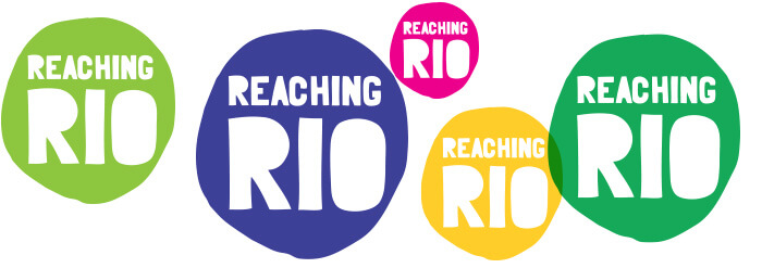 Reaching Rio branding design