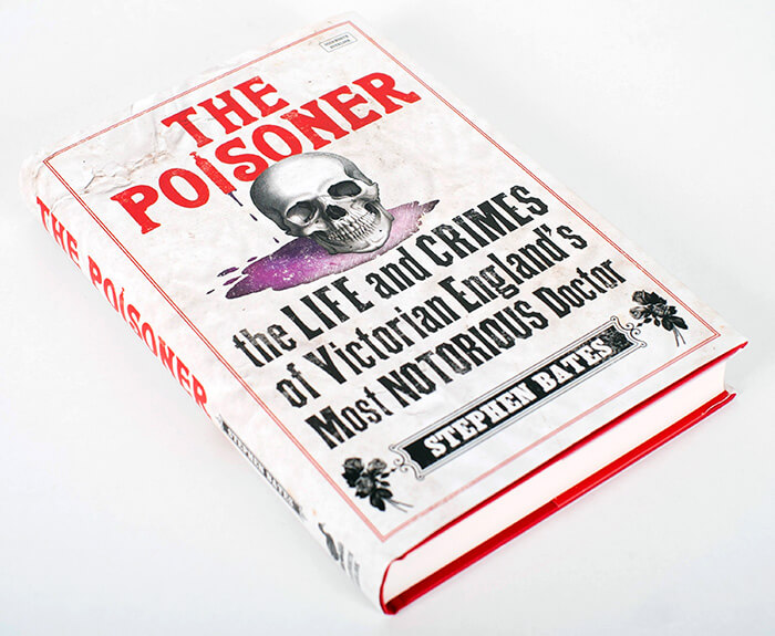 The Poisoner book jacket design
