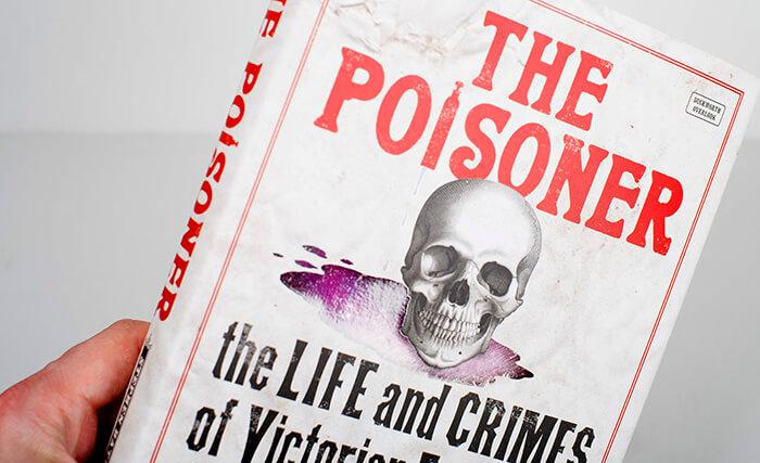 The Poisoner book jacket design