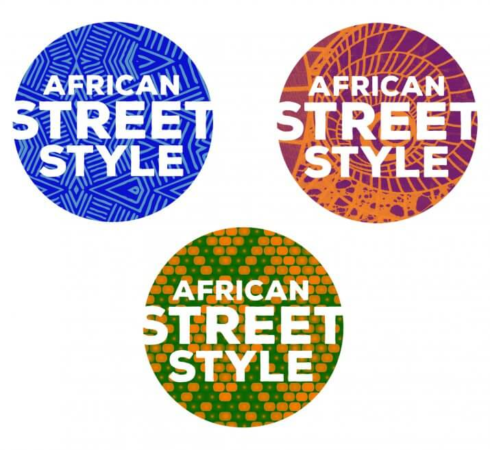 African Street Style festival logos